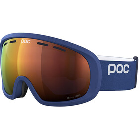 POC Fovea Mid Clarity Goggles, lead blue/spektris orange